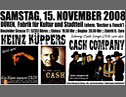 Lit.Duria Teil 2:Lesung m. Heinz Küppers / Johnny Cash Coverband